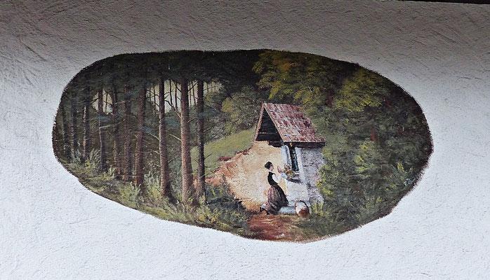 Lüftelmalerei in Bayern