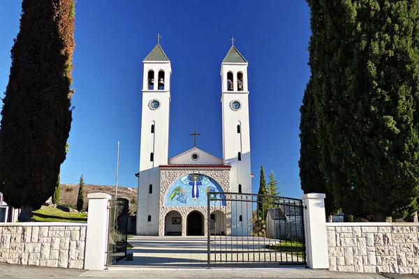 Die Kirche von Zagvodz