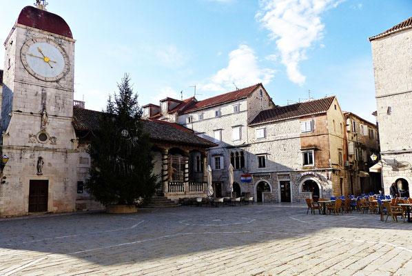 Der zentrale Platz in Trogir
