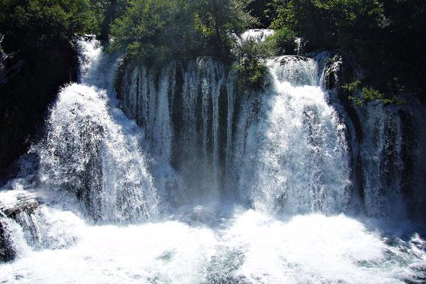 Die Wasserfälle von Martin Brod