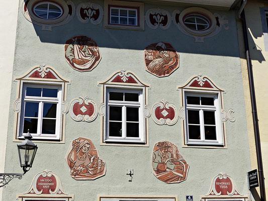 Lüftlmalerei in Wolfratshausen