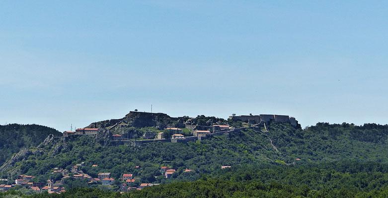 Die Burg von Knin