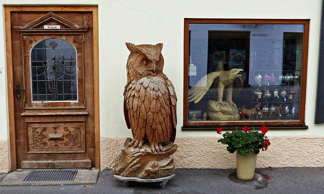 Eule in Oberammergau
