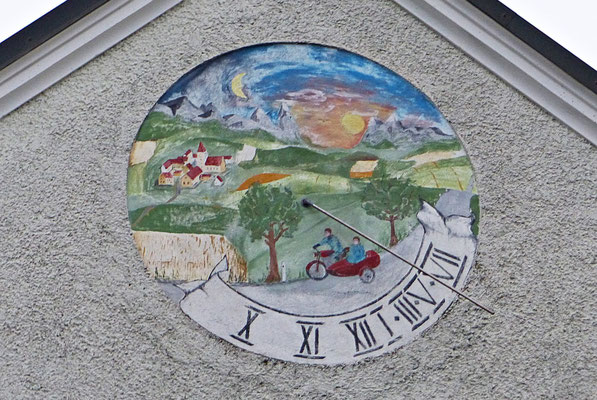 Sonnenuhr in Deggendorf