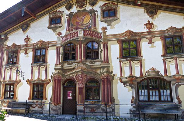 Lüftlmalerei in Oberammergau