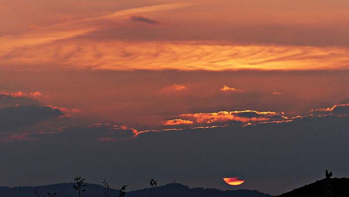 Der erste Sonnenaufgang