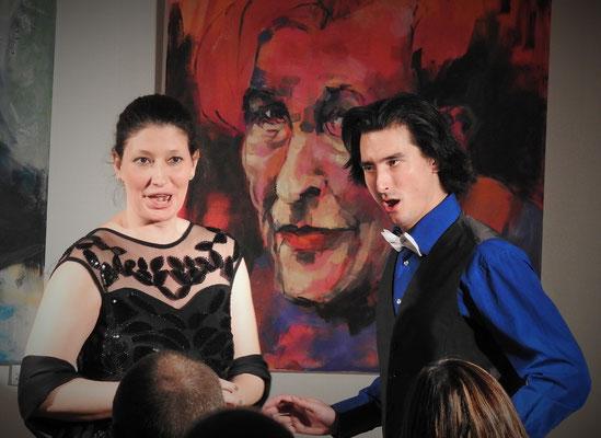 Kathrin Fischbach und Niklas Clarin