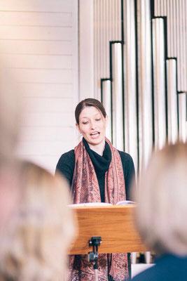 Kathrin Fischbach - Singen Gottesdienst