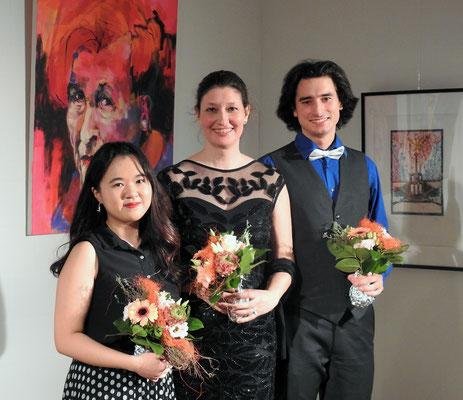 mit Marn Lin und Niklas Clarin - Foto by Susanne Fischbach