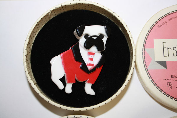 SOLD Pete the pug, 2x available, one tag only. €80