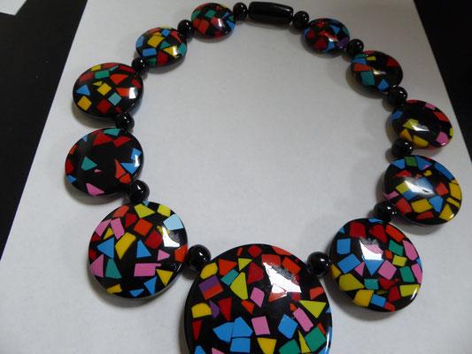 Fabulously bright Marion Godart necklace, €85