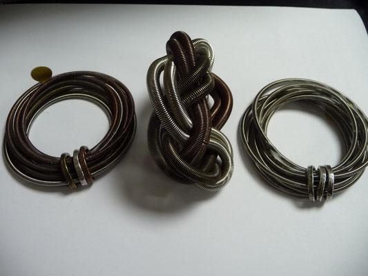 Jérémie Barthod, France, piano wire bracelets, €69