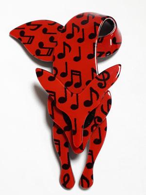 Musical fox, authentic Lea Stein €179