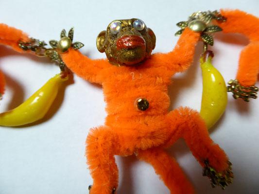 NIKI BODEN monkey necklace, SPECTACULAR !! - €168