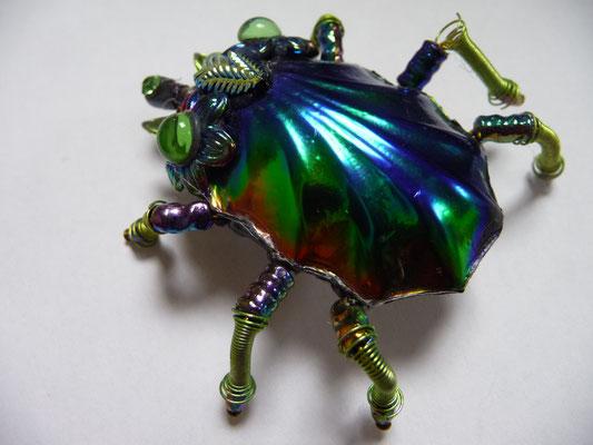 NIKI BODEN beetle brooch €68