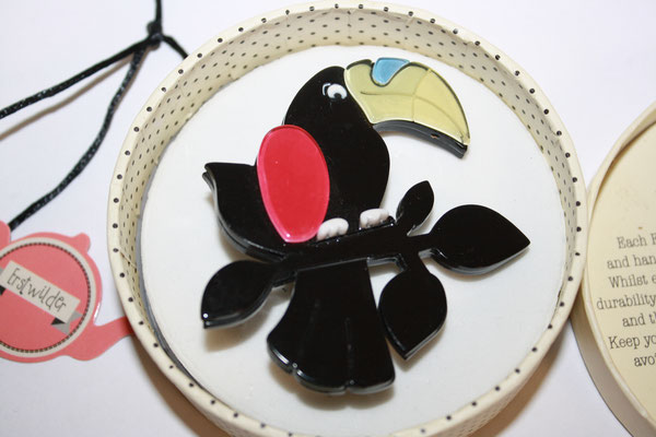 Talulah Toucan Black Model, €65