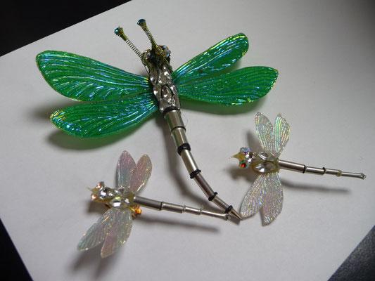 NIKI BODEN dragonfly brooch €68