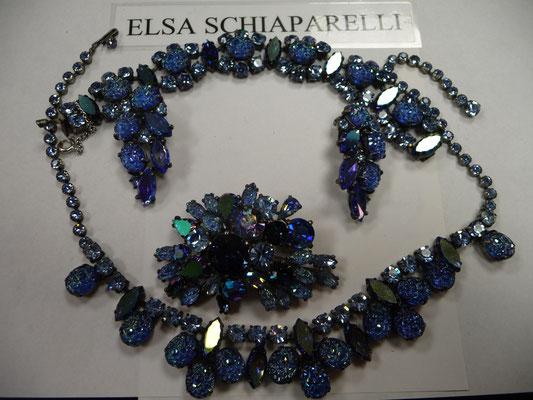 ELSA SCHIAPARELLI GRAND PARURE