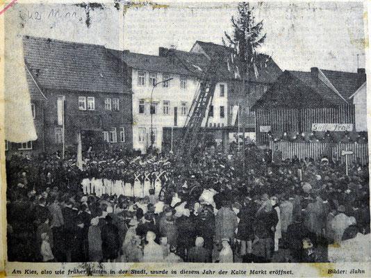1958 Markteröffnung Am Kies