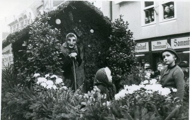 Kalter Markt-Umzug 1960 (Bild Stadtarchiv Schlüchtern)