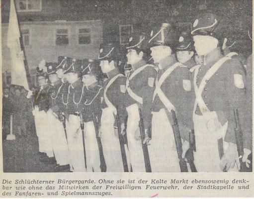 1958 Bürgergarde