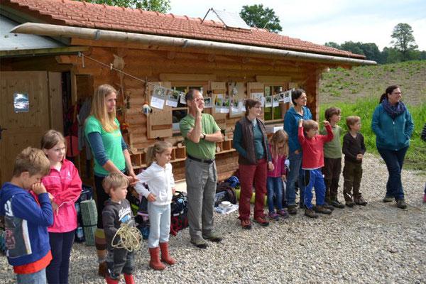 Kinder basteln, Kreisverband für Gartenbau und Landespflege Rosenheim