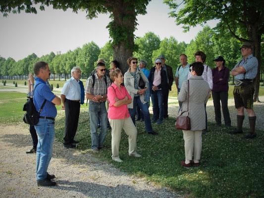 Vereinsvorstände Ausflug - Kreisverband für Gartenbau und Landespflege Rosenheim e.V