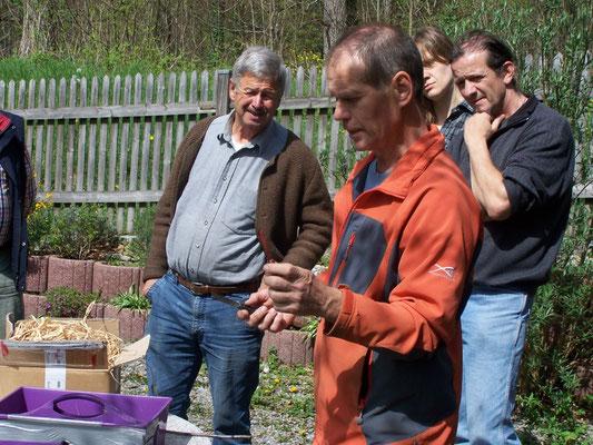 Veredlungskurs in Nußdorf mit Fachberater Lorenz, Kreisverband für Gartenbau und Landespflege Rosenheim e.V.