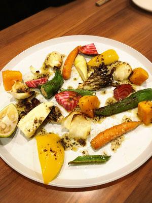 焼き野菜の盛合せ