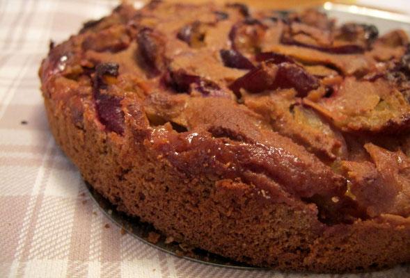 lowcarb Zwetschgenkuchen