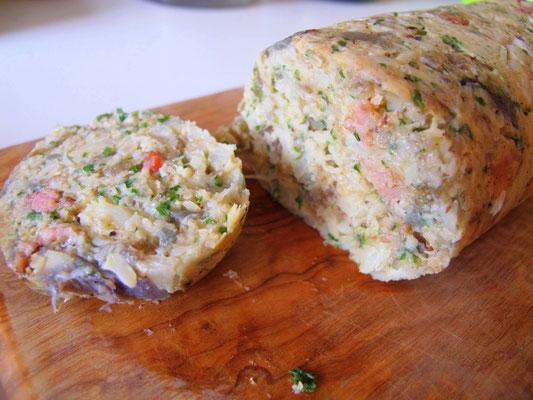 So, oder nochmals in Butter anbraten - Paleo Knödel(lowcarb und glutenfrei)