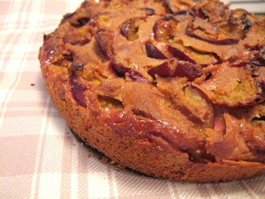 glutenfreier Zwetschgenkuchen
