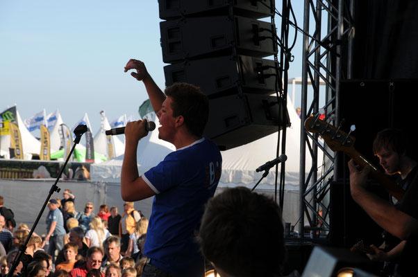 Live on Stage - Kite surf WM Sankt Peter Ording 2009