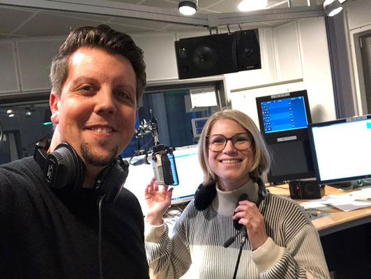 Im NDR1 Studio zu Gast bei Jessica Schlage