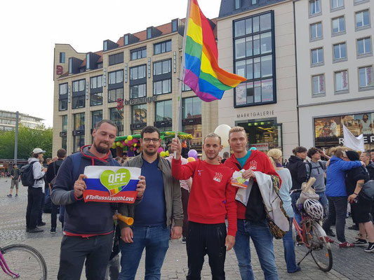 Leipziger Demo zum IDAHOBIT Day