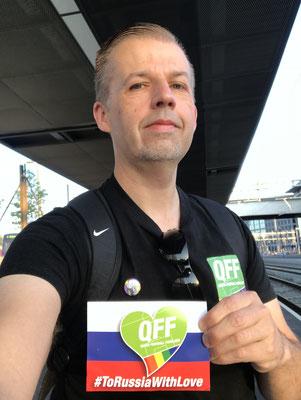 06:05 Uhr, Bahnhof Bern Wankdorf: Etwas müde, aber erwartungsfroh warte ich auf die S-Bahn