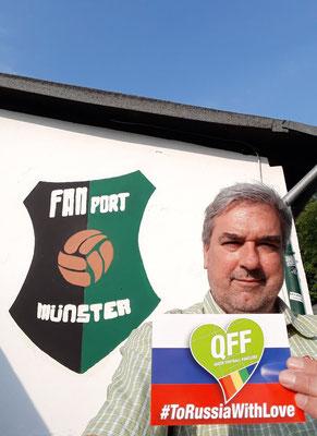 FANport Münster unterstützt uns ebenso. Merci!
