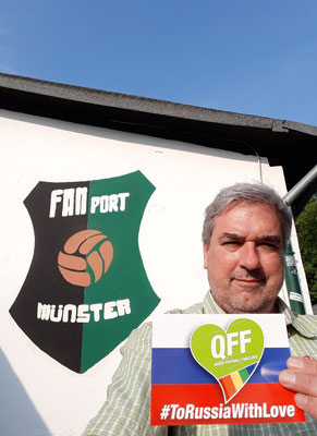 FANport Münster also supports us. Thank you!