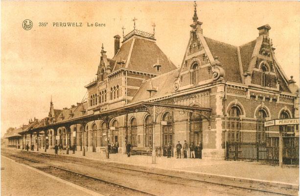 gare de Péruwelz (les quais)