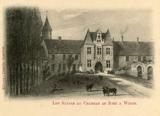 Château du Biez à Wiers