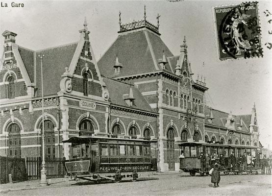 gare de Péruwelz (tram à Kvaux)