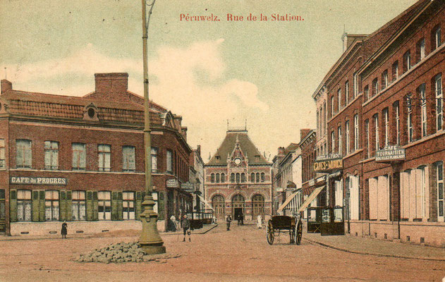 gare de Péruwelz (entrée)