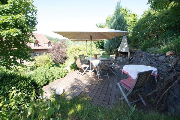 Werkhaus Garten Terrasse