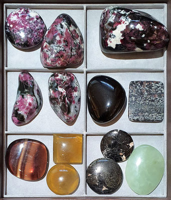 Eudialyte and miscellaneous 1