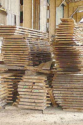 Planches Menuiserie Vendues Brutes De Sciage Sèches Prêtes à L Emploi Longueurs 3 4 00 M Environ Largeurs 20 40 Cm Pas Découpe