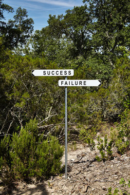 Gianni Motti, Success Failure (Blue) © jc Lett