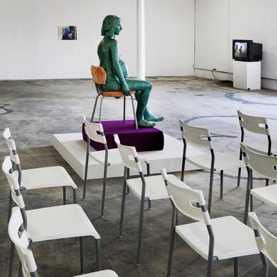 K. ACKER : THE OFFICE / RULING 'N' FREAKING / TRIANGLE ( GALERIE DE LA FRICHE ) © jcLett