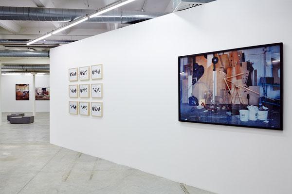 Pop up, vue d'exposition -  Astérides © Jeanchristiophe Lett