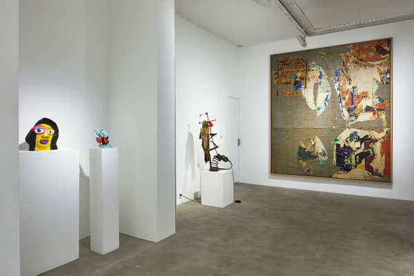 60's : Niki de Saint Phalle, Tinguely, Villeglé © Jeanchristophe Lett