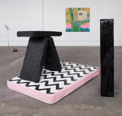 """expo """" CORPUS MOBILE """" ( GALERIE DE LA FRICHE ) © jcLett"""